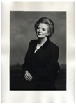 Large 12 x 16 Photograph of Margaret Thatcher, Taken by Terence Donovan in 1995